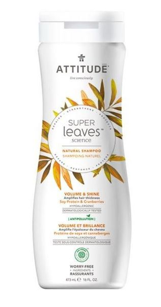 Attitude Super Leaves tuuheuttava shampoo 473 ml